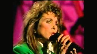 Laura Branigan - Reverse Psychology and Never In A Million Years - The Tonight Show (1990)
