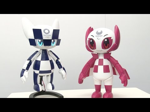 Tokyo 2020 Mascot Robot expressions and movement