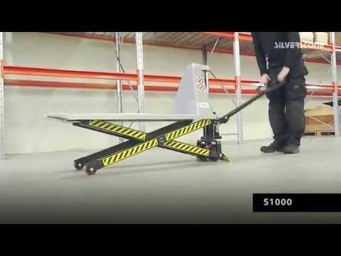 Sakseløfter med automatisk hurtigløft 1000 kg