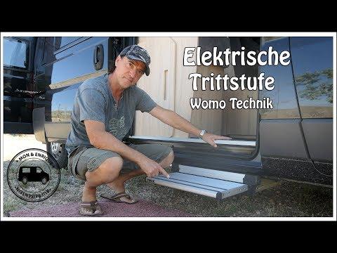 Elektrische Trittstufe – Vorteile - Bedienung – Pflege – Wohnmobil Technik