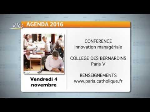 Agenda du 24 octobre 2016