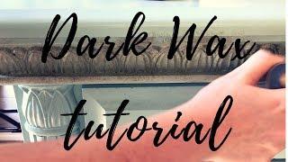 How To Dark Wax Furniture