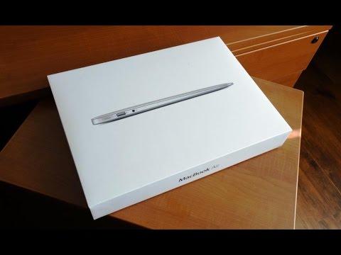 Apple Macbook Air 13' unboxing 2017, full description