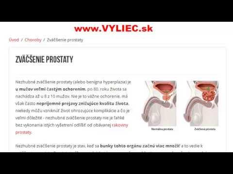 Vysrážený během masáž tajemství prostaty