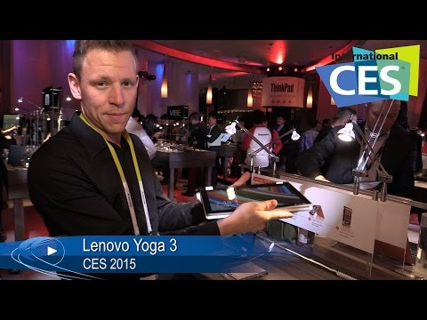CES 2015: Lenovo Yoga 3 kompaktes Convertible in 11 oder 14 Zoll (German) | Allround-PC.com
