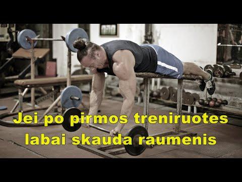 Vyriškas gaktos ir coccygeal raumenys