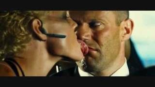 Transporter 2, Kate Nauta licks Jason Statham