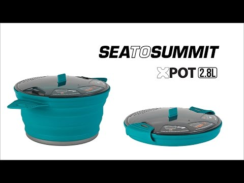 Sea To Summit X-Pot Camping Cooking Pan 2800ml Instruction Video