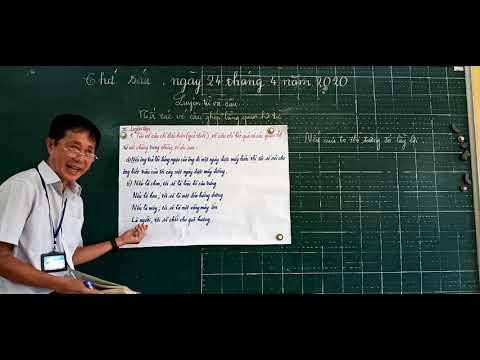 Môn LTVC lớp 5, bài Nối các vế câu ghép bằng quan hệ từ (GV Huỳnh Phước Sang, Trường TH C Phú Mỹ)