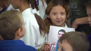 Открытие школы единоборств Атаман