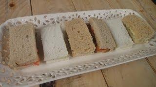 Assorted Finger Sandwiches | Sanjeev Kapoor Khazana