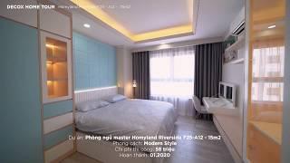 [Decox Home Tour] Căn hộ Homyland 76m2, sở hữu 2 phòng ngủ tinh tế