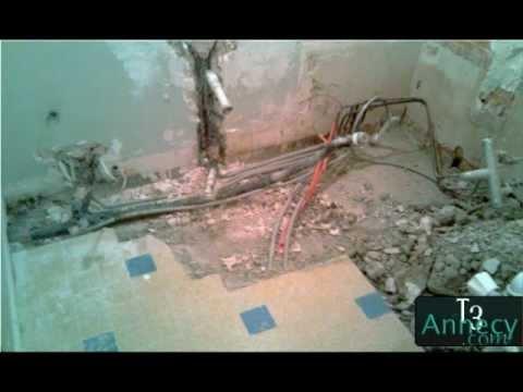 t3annecy com vid o n 2 salle de bains douche italienne mosa que carrelage le 23 12 2010. Black Bedroom Furniture Sets. Home Design Ideas