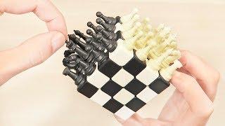 Ajedrez sobre un Cubo de Rubik