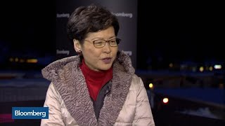 Hong Kong's Lam Says China Is Not Tightening Control