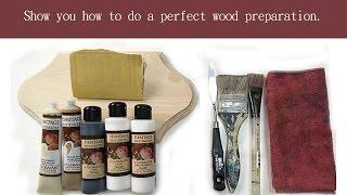 Paint It Simply 彥蓁彩繪教學系列--木器打底極究版Wood Preparation