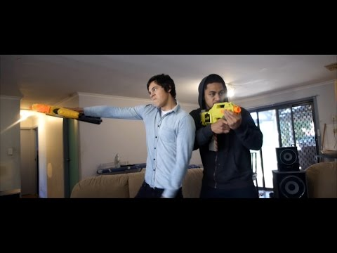 You Don't Need To Be A Nerf Nerd To Enjoy This Epic Nerf Battle
