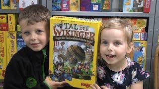Tal der Wikinger (Haba) - ab 6 Jahre - Kinderspiel des Jahres 2019 - Abläufe, gameplay und Fazit