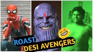 The Return Of Desi Avengers....😈 [Rost By Beeebai ]  #Desiavengers #Desiavengersrost