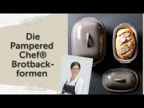 Pampered Chef Brotbackformen - Überblick und Tipps