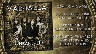 """VALHALLA (USA) """"Unearthed"""" CD Teaser Video HD"""