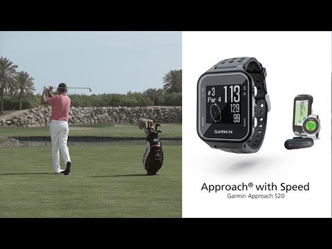 Garmin Approach S20 - How to approach your game with speed (English)