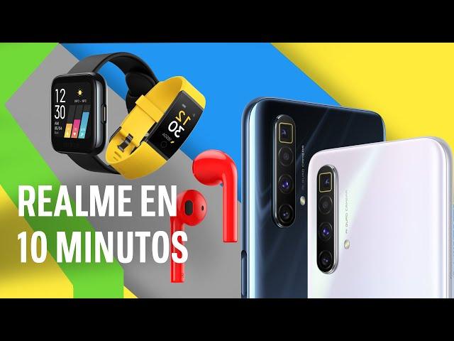 TODAS LAS NOVEDADES DE REALME EN 10 MINUTOS: Realme X3 Super Zoom, Realme 6s, Realme Watch y más