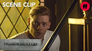 Shadowhunters | Season 2, Episode 14: Jace Playing Piano | Freeform