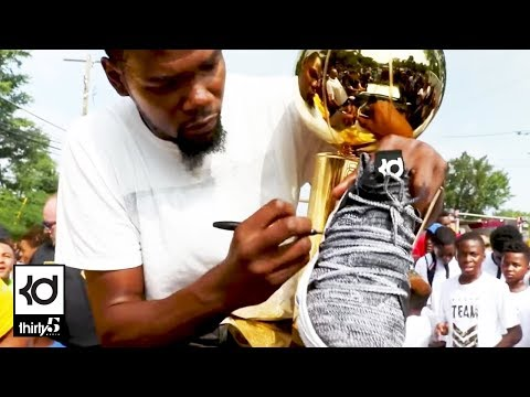 Kevin Durant Day / Parade in Seat Pleasant