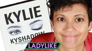Women Try Kylie Jenners Eyeshadow • Ladylike