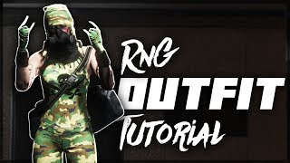 GTA 5 ONLINE - CAMO RNG OUTFIT TUTORIAL! *1.42*