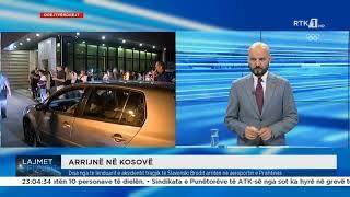 Drejtpërdrejt - Arrijnë në Kosovë 27.07.2021