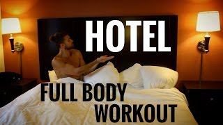 20 Min Full Body Hotel Room Workout by Zen Dude Fitness