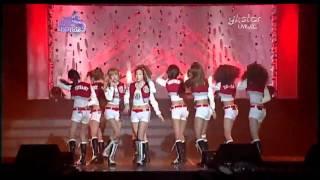 100203 SNSD - Gee+Oh! @ Seoul Music Awards 2010