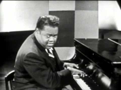 1956 Fats Domino - Blueberry Hill - Sullivan Show