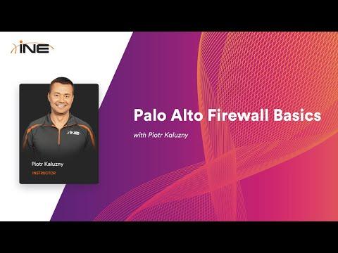 INE Free Course: Palo Alto Firewall Basics - YouTube
