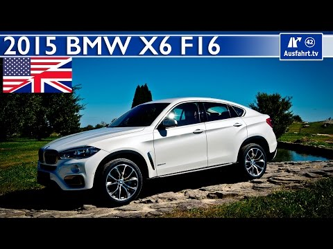2015 BMW X6 xdrive50i (F16) - Start Up, Exhaust, Test Drive and In-Depth Review (English)