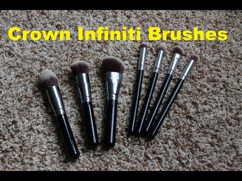 Basic Cosmetic Brush Set 510 by Crown Brush #3