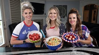 AWESOME & EASY 4th Of July Snacks To Bring To The BBQ!