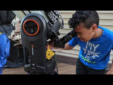 Unboxing of the Celestron NexStar Evolution 8 EdgeHD StarSense, Schmidt-Cassegrain Telescope
