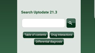 Uptodate free access (from android devices)