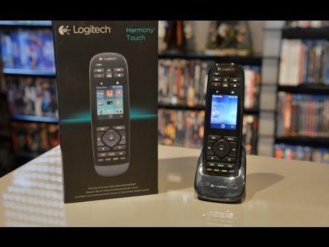 Test Logitech Harmony Touch