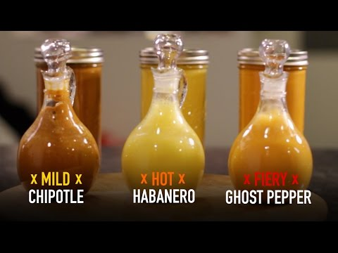 Ghost Pepper, Chipotle & Habanero HOT SAUCE
