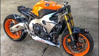Rebuilding A Crashed Honda CBR 1000RR Repsol Edition - Custom Project Pt 3