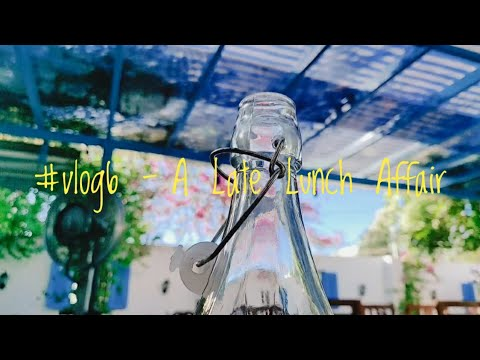 #vlog6 - A Late Lunch Affair 💛 | Rural Blues Review | Good Vibes Only