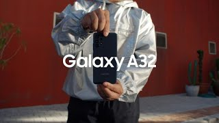 Galaxy A32: Official Introduction Film | Samsung thumbnail