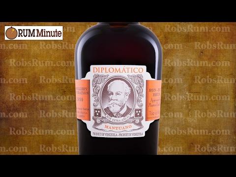 Diplomático Mantuano aged rum from Venezuela