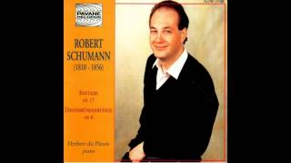 Herbert du Plessis - Davidsbündlertänze, Op. 6, Book II: Zart und singend