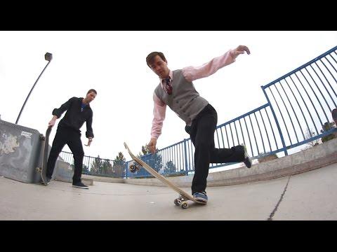 NEW KIND OF SKATE TRICK!