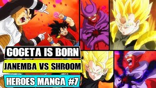 Gambar cover Dragon Ball Heroes Manga Chapter 7: Super Gogeta Is Born! Gogeta Vs Shroom Vs Janemba
